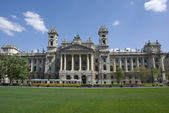 Museum of ethnography in budapest, hungary — Stock Photo