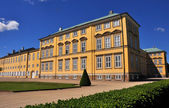 Yellow facade of Frederiksberg Palace, Copenhagen — Stock Photo