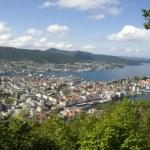 View over Bergen, Norway — Stock Photo #50988021