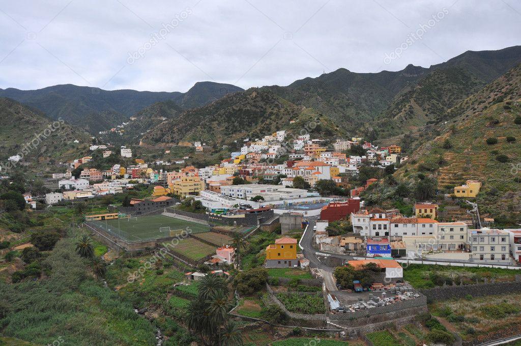 拉戈梅拉岛的风景