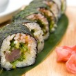 Sushi  Chuka Roll acute — Stock Photo