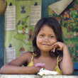 Yagua Girl — Stock Photo