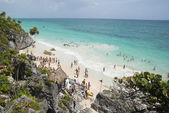 Tulum Ruins beach — Stock Photo