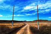 Strada selvaggia — Foto Stock