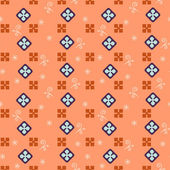 Seamless simple retro geometrical pattern of classic style — Stock Vector