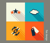 Business icon set — Stock Vector