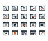 Sada ikon podnikání — Stock vektor