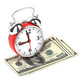 El tiempo es dinero concepto 3d. — Foto de Stock