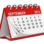 Desktop Calendar Against White. — Stock Photo #14333237
