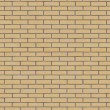 Brick Wall Texture Seamlessly Tileable. — Stockfoto