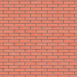 Red Brick Wall Texture Seamlessly Tileable. — Stock Photo #15310469