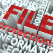 File Protection Concept. — Stock Photo