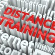 Distance Training Concept. - Stock Photo