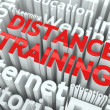 Distance Training Concept. — Stock Photo