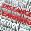Photo: Distance Learning Concept.