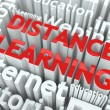 Distance Learning Concept. - Stock Photo