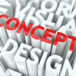 Design Concept. - Stock Photo