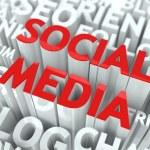 Social Media Concept. — Stock Photo