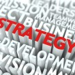 Strategy Concept. — Stock Photo