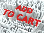 Add To Cart Concept. — Stock Photo