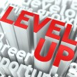 Level Up Concept. — Stock Photo