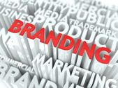 Brand Concept. — Stock Photo