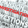 Stock Photo: Investigation Concept.