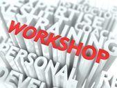 Workshop koncept. — Stockfoto
