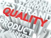 Quality Concept. — Stock Photo