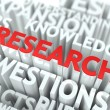 Research Background Design. — Foto Stock