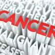 Cancer Background Conceptual Design. — Stock Photo