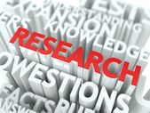 Research Background Design. — Stock Photo