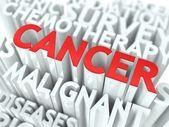 Cancer Background Conceptual Design. — Stock Photo