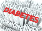 Diabetes Background Conceptual Design. — Foto Stock