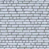 White Brick Wall Background. — Stock Photo