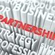 Partnership Concept. — Stock Photo