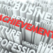 Foto Stock: Achievement Background Conceptual Design.