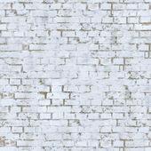 Vit tegelvägg textur. — Stockfoto