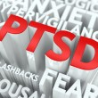 Stock Photo: PTSD Concept.