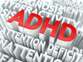 ADHD Concept. — Stockfoto