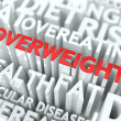 Overweight Concept. — Stock Photo