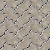 Paving Slabs. Seamless Texture. — Stock Photo