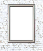 Empty Frame on Wall. — Stock Photo