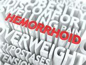 Hemorrhoid Concept. — Stock Photo