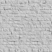 White Brick Wall Seamless Texture. — Stock Photo
