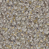 Road Asphalt Seamless Texture. — Stock Photo