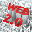 Web 2.0 Concept. — Stock Photo