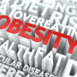 Obesity Concept. — Stock Photo