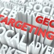 Geo Targeting Concept. — Stock Photo