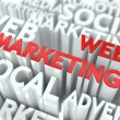 Web Marketing Concept. - Stock Photo